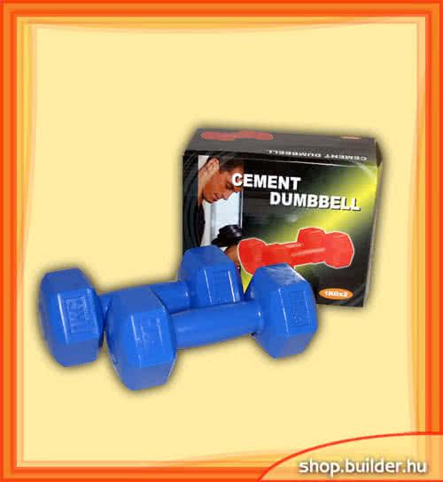 Egyéb sportszer Műanyag kézisúlyzó 1kg pár