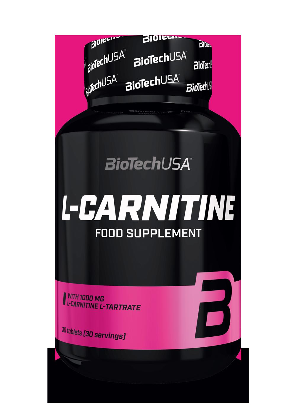 BioTech USA L-Carnitine (1000 mg) 30 tab.