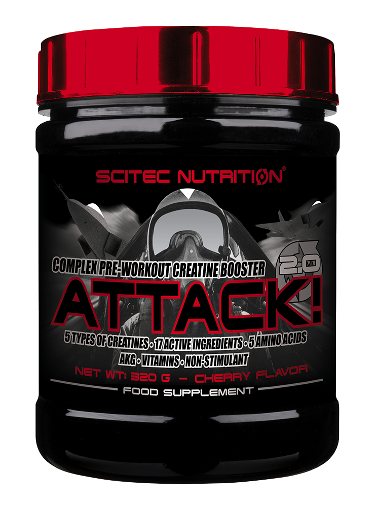 Scitec Nutrition Attack! 2.0 320 gr.