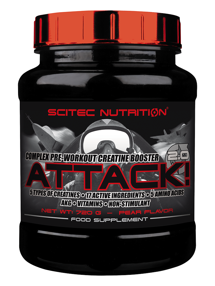 Scitec Nutrition Attack! 2.0 720 gr.
