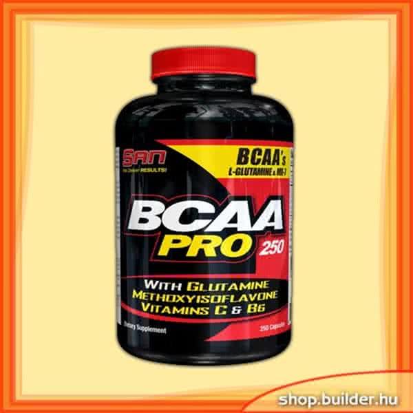 San Nutrition BCAA-Pro 250 kap.