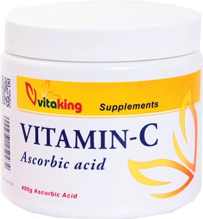 VitaKing Ascorbin-sav (C-vitamin) 400 gr.