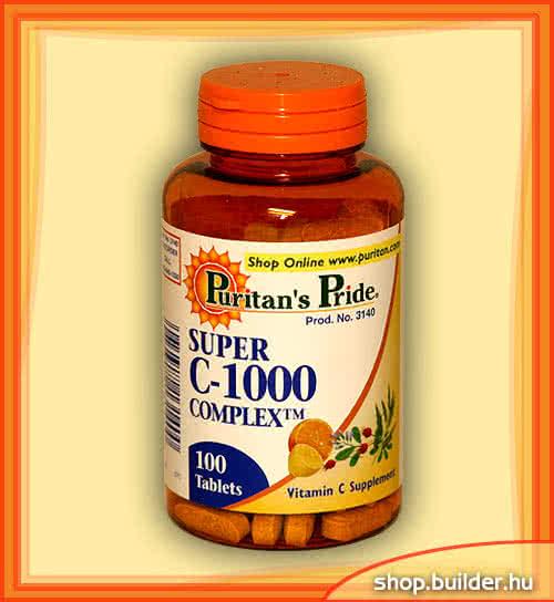 Puritan`s Pride Super C-1000 Complex 100 tab.