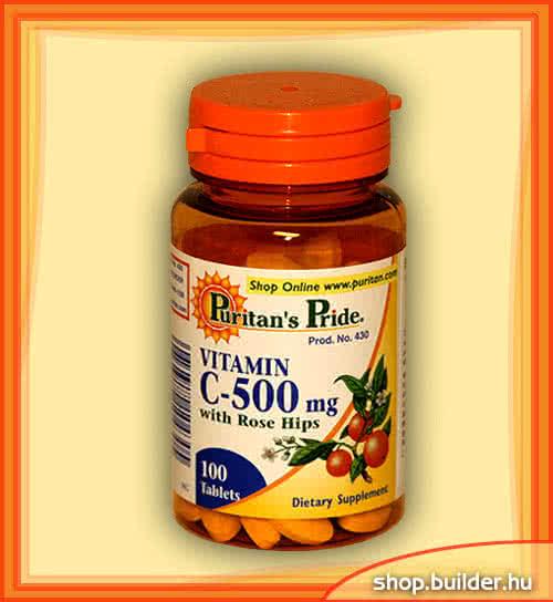 Puritan`s Pride Vitamin C-500 100 tab.