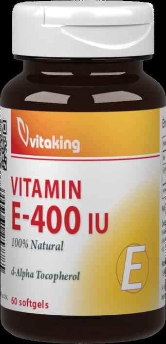 VitaKing Vitamin E-400 60 g.k.