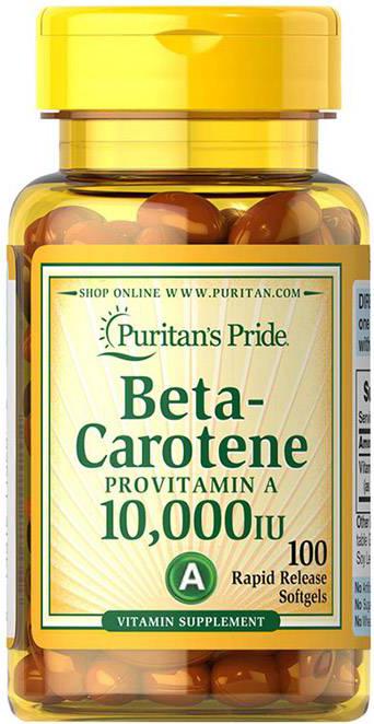 Puritan`s Pride Beta Carotene 100 g.k.