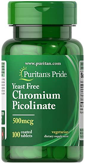 Puritan`s Pride Ultra Chromium Picolinate 100 tab.