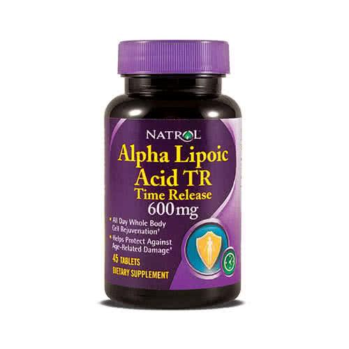 Natrol Alpha Lipoic Acid TR 45 kap.