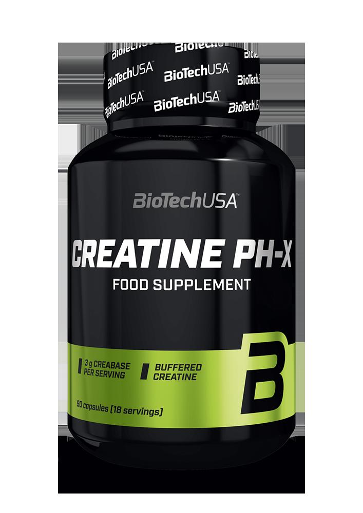 BioTech USA Creatine pH-X 90 kap.