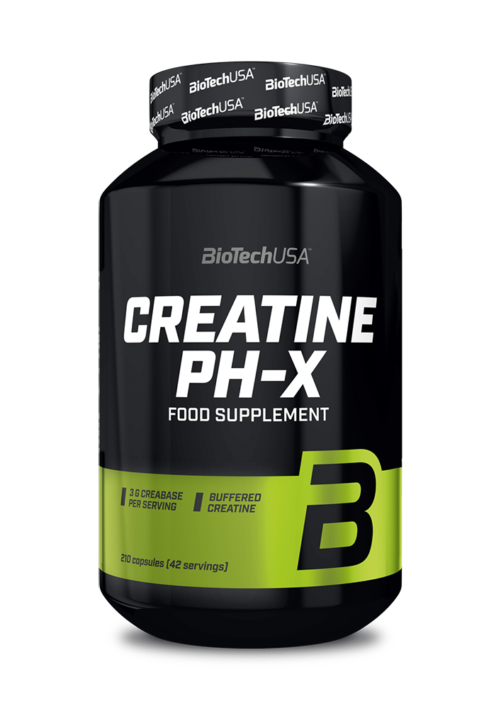 BioTech USA Creatine pH-X 210 kap.