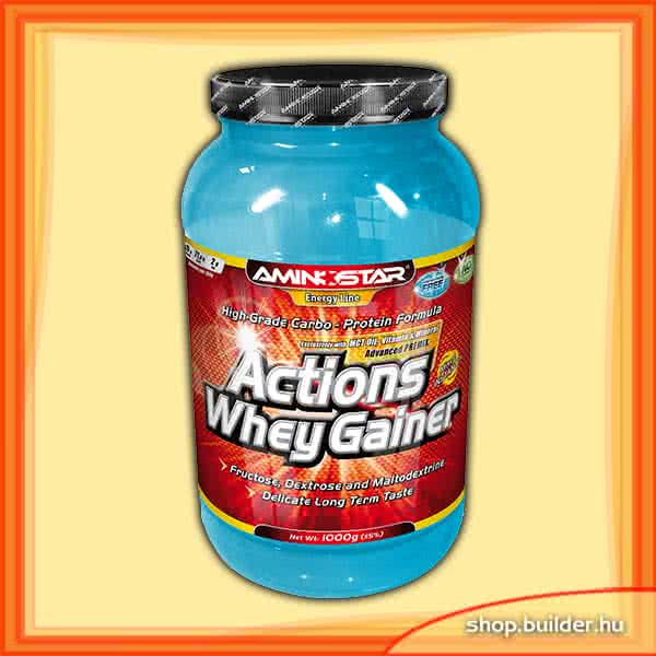 AminoStar Actions Whey Gainer 2,25 kg