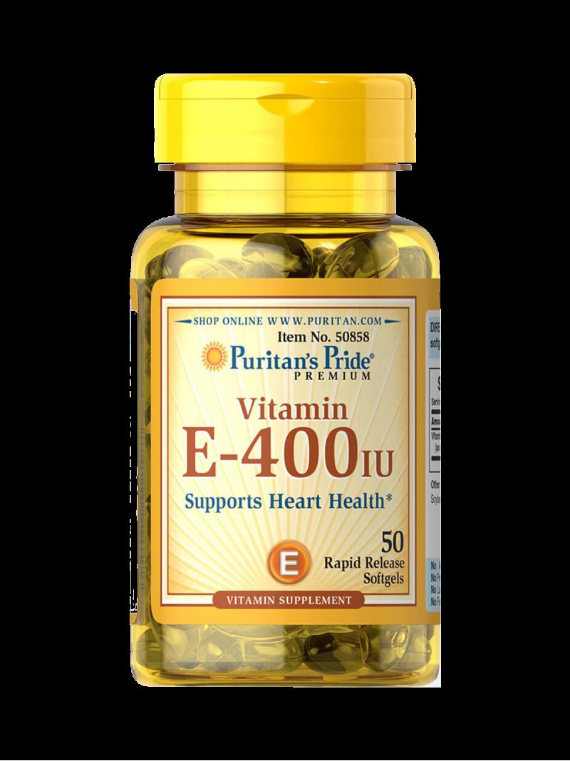 Puritan`s Pride Natural E-400IU 50 g.k.