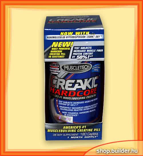 MuscleTech Creakic Hardcore 180 kap.