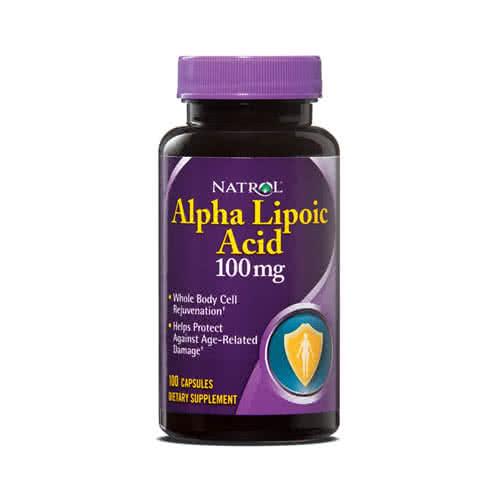Natrol Alpha Lipoic Acid 100 kap.