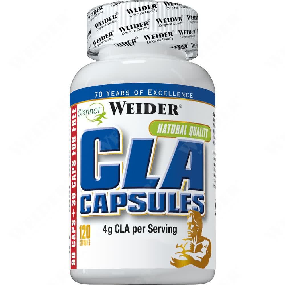 Weider Nutrition CLA Capsules 120 g.k.