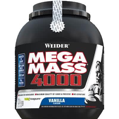 Weider Nutrition Giant Mega Mass 4000 3 kg