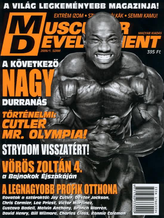 Könyvek/Magazinok Muscular Development 1.