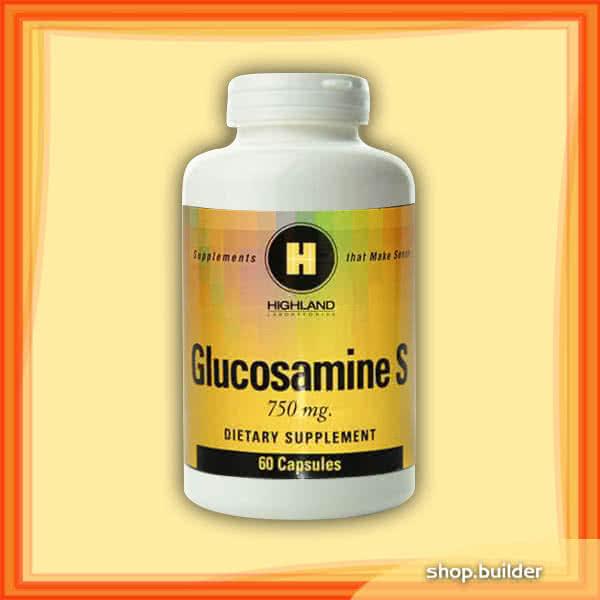 Highland Glucosamine S 60 kap.