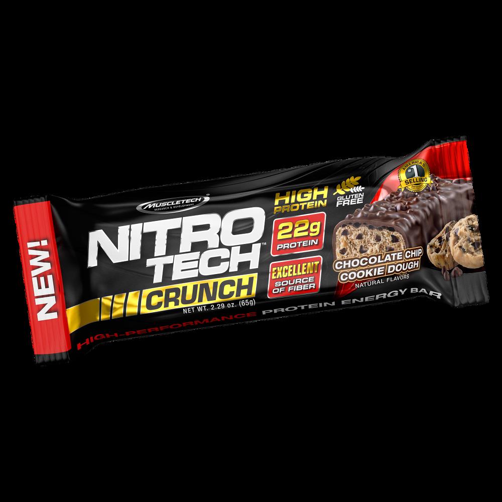 MuscleTech Nitro Tech Crunch Protein Bar 65 gr.