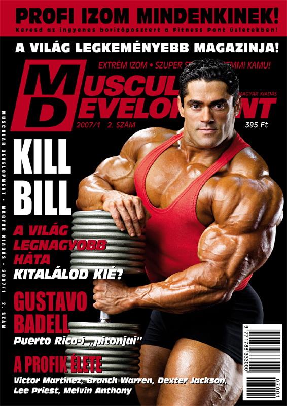 Könyvek/Magazinok Muscular Development 2.