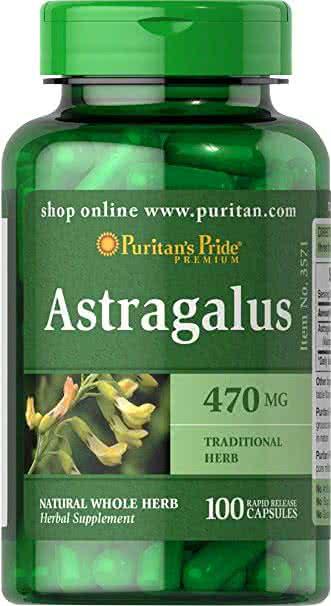 Puritan`s Pride Astragalus (Huang Qi) 100 kap.