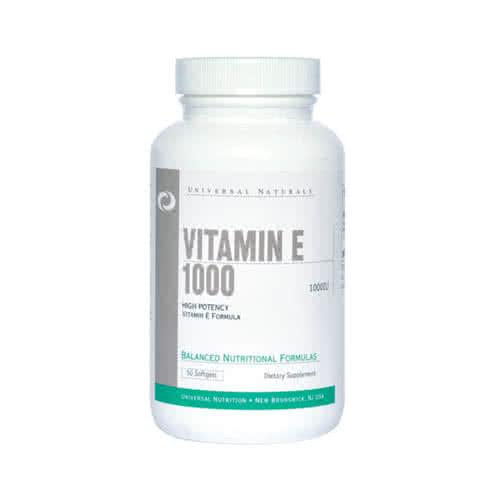 Universal Nutrition Vitamin E 1000 50 g.k.