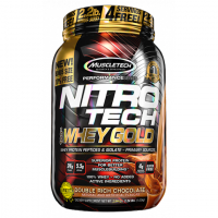 MuscleTech Nitro Tech 100% Whey Gold (0,907 kg)
