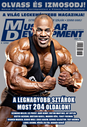 Könyvek/Magazinok Muscular Development 4.