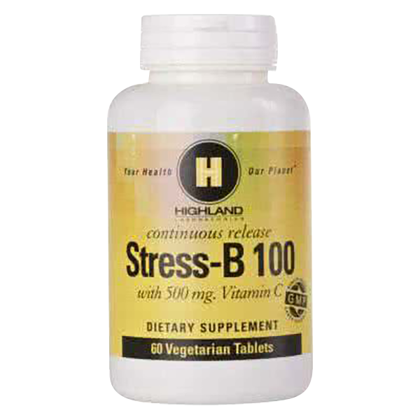 Highland Stress-B 100 60 tab.