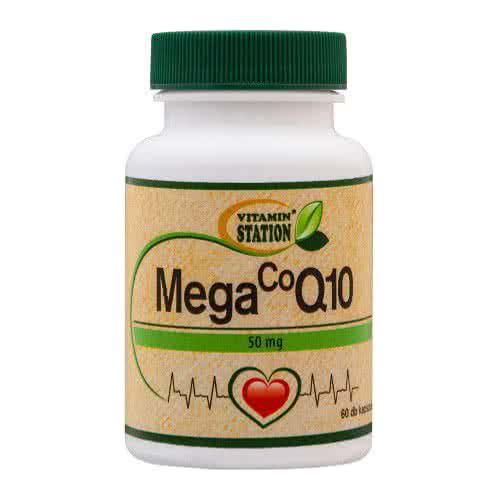 Vitamin Station Mega CoQ10 (50 mg) 60 kap.