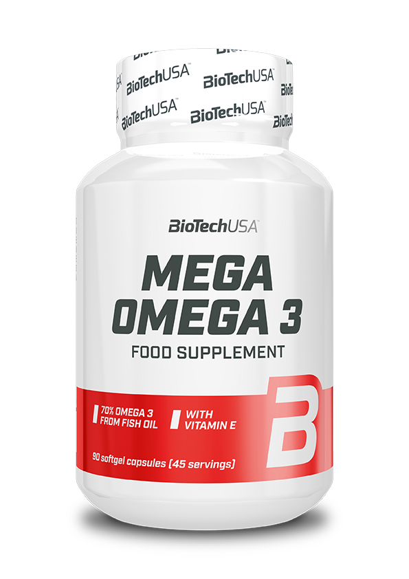 BioTech USA Omega 3 90 g.k.