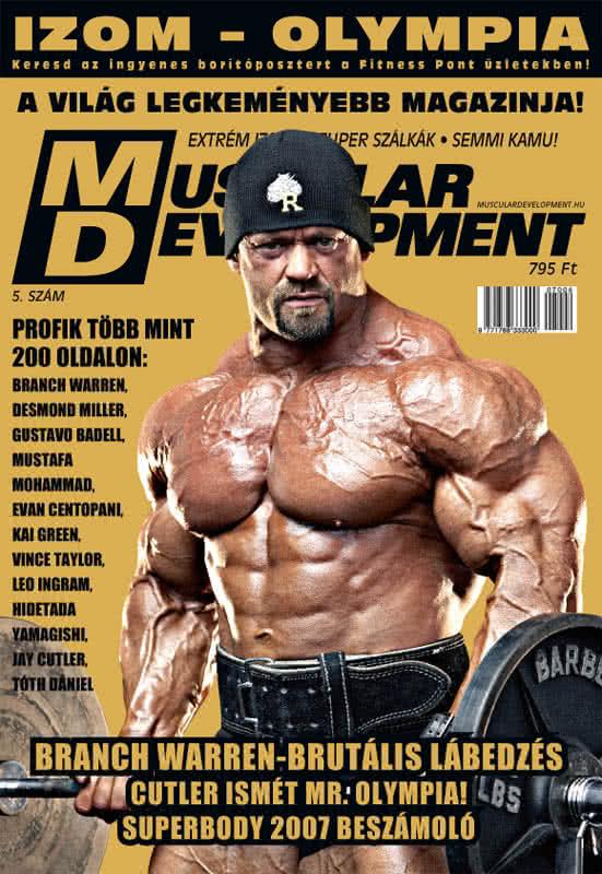 Könyvek/Magazinok Muscular Development 5.