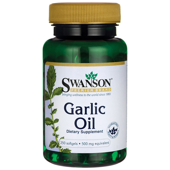 Swanson Garlic Oil (fokhagyma olaj) 250 g.k.
