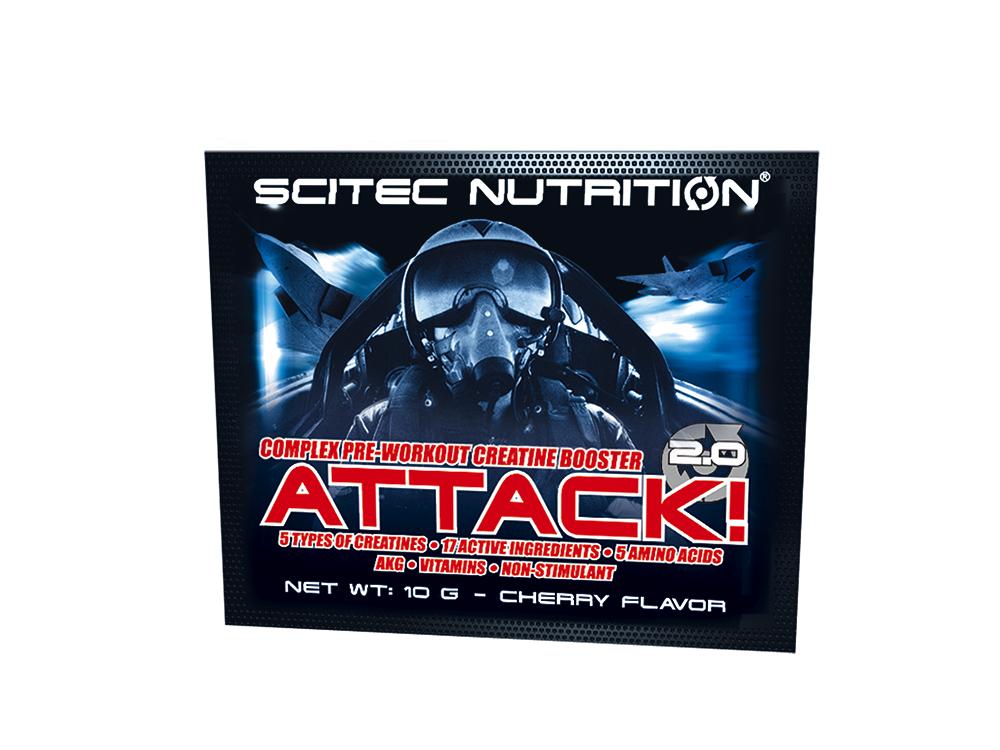 Scitec Nutrition Attack 2.0 10 gr.