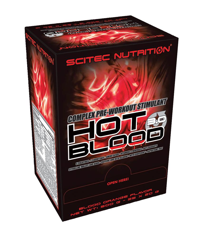 Scitec Nutrition Hot Blood 3.0 25x20 g