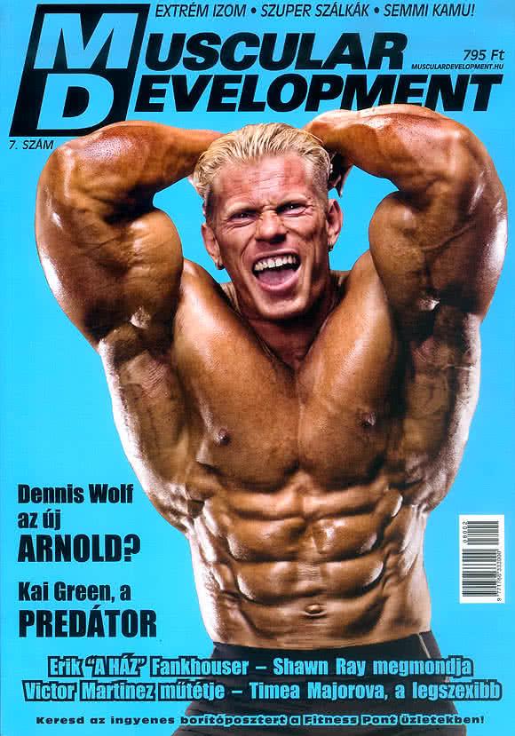 Könyvek/Magazinok Muscular Development 7.