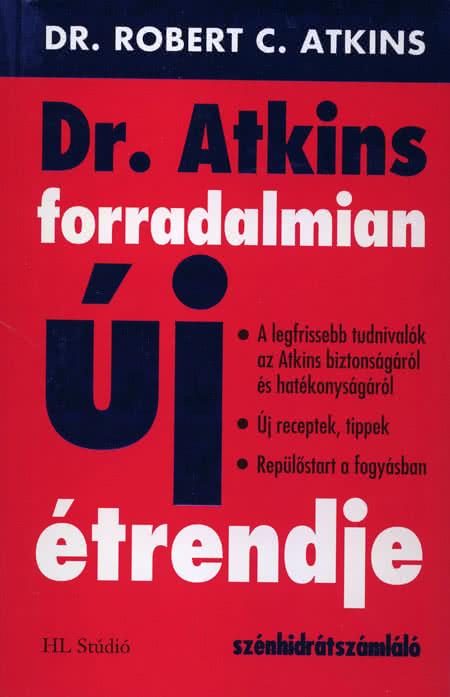 Könyvek/Magazinok Dr. Atkins forradalmian új étrendje