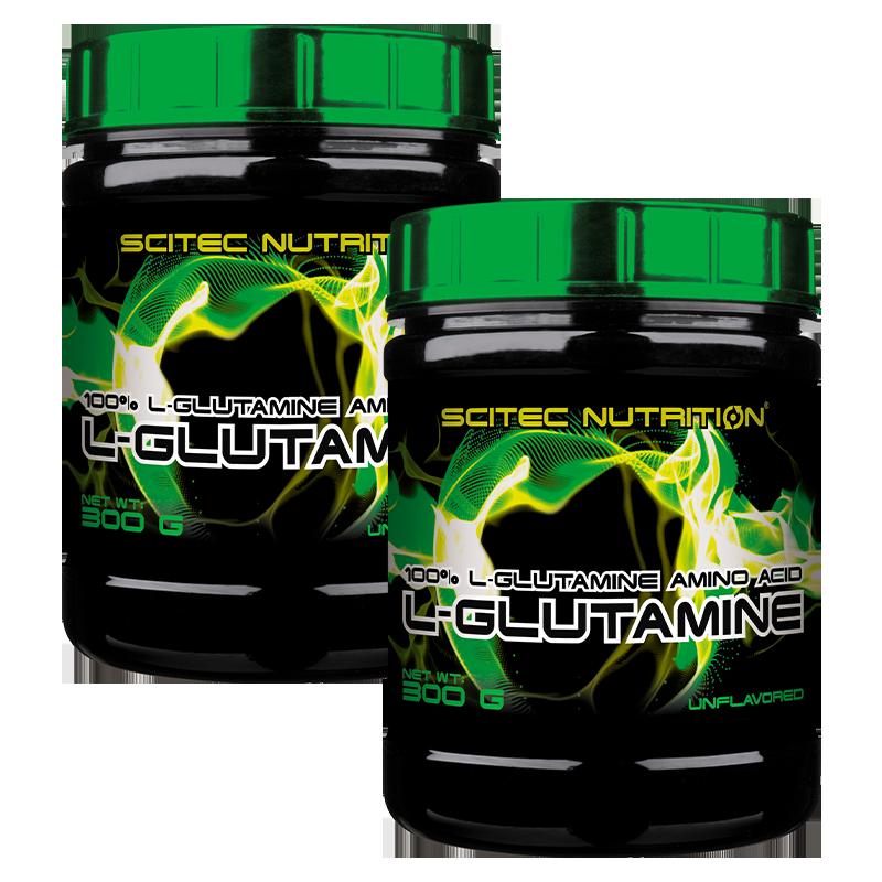 Scitec Nutrition L-Glutamine 2x300 gr. 600 gr.