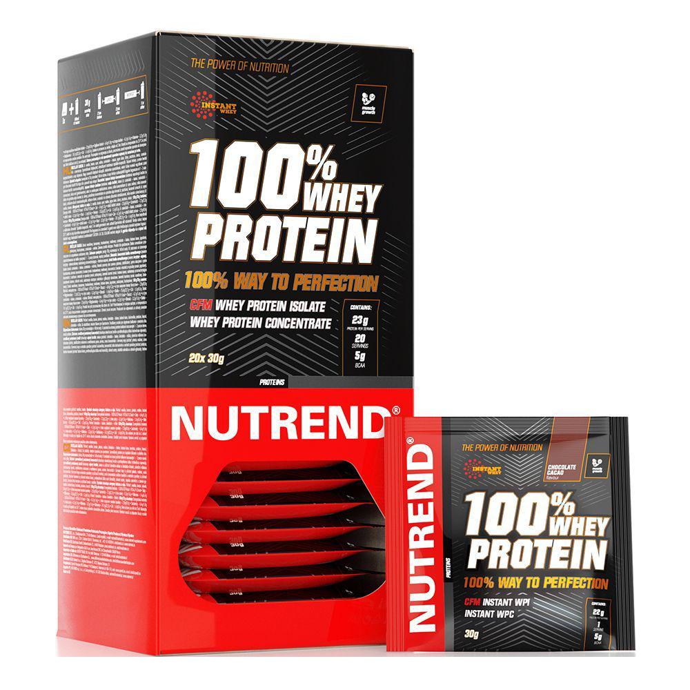 Nutrend 100% Whey Protein  20x30 g