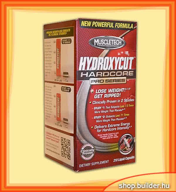 MuscleTech Hydroxycut Hardcore Pro Series 210 l.k.
