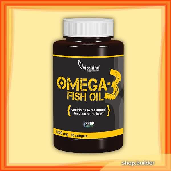 VitaKing Omega 3 (Fish Oil) 90 g.k.