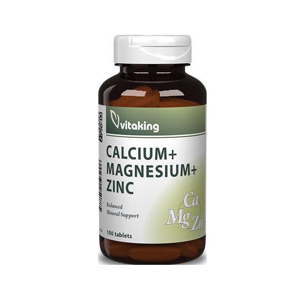 VitaKing Calcium Magnesium +Zinc 100 tab.