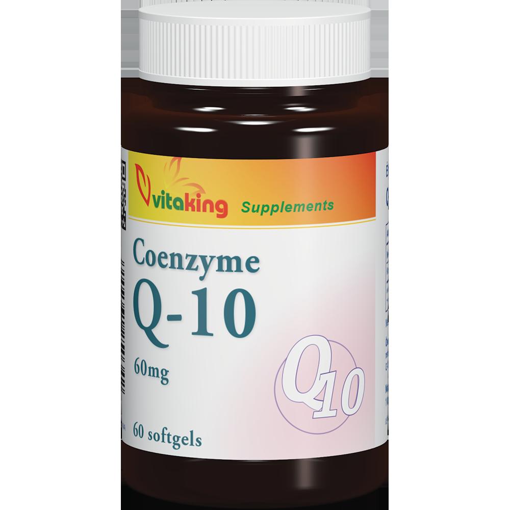 VitaKing Coenzyme Q-10 (60 mg) 60 g.k.