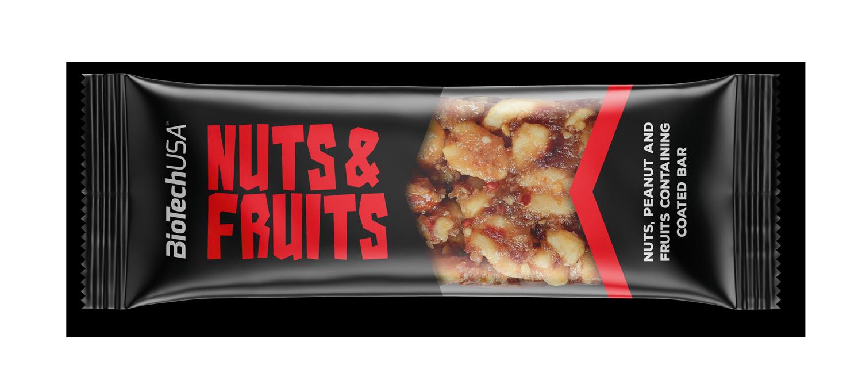 BioTech USA Nuts & Fruits 40 gr.