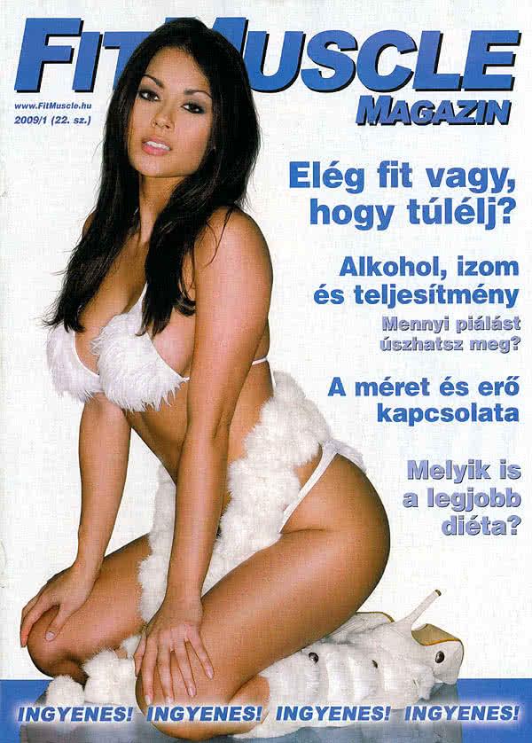 Könyvek/Magazinok FitMuscle Magazin 22. 2009/1.