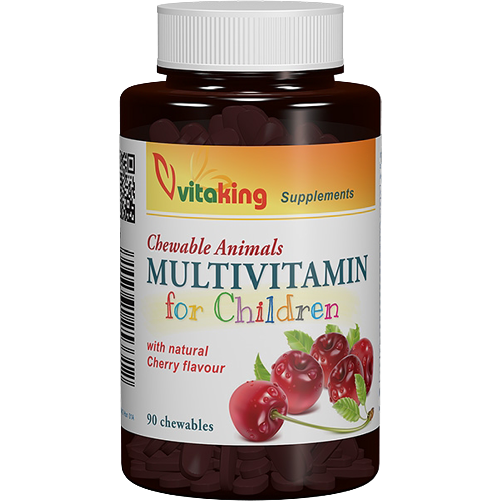 VitaKing Multivitamin for children 90 r.t.