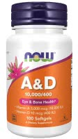 Now Foods Vitamin A & D (100 g.k.)