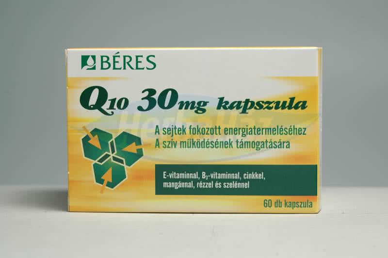 Béres Béres Q10 (30mg) 60 kap.