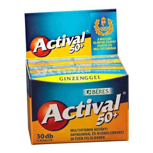 Béres Actival 50+ 30 tab.