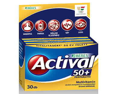 Béres Actival 50+ 90 tab.